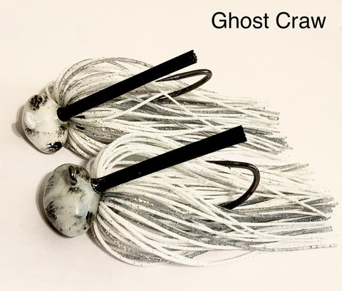 #19 - 3/4 oz Ghost Craw Custom Football Jigs