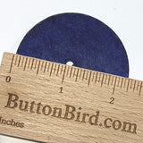 "Blue Extra Large Coconut Button ""Rustica""  2-1/4"" Scooped Navy"