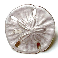 tiny sand dollar button at button bird.com