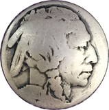 Authentic Indian Head/Nickel Button 7/8""