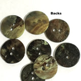 "Natural Mother of Pearl Round Button 5/8"", Bag of 5"