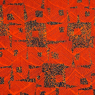 Periwinkle Floral Cotton Voile Hand Blockprint, Mulmul by the yard  # 840