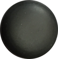 Pastel Glow Shank Button, Grey Charcoal, 2 sizes  HALF OFF