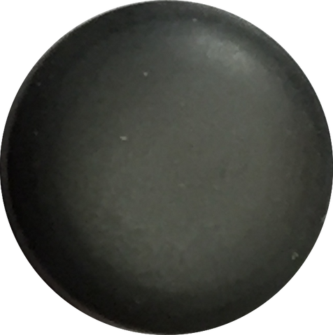 Pastel Glow Shank Button, Grey Charcoal, 2 sizes