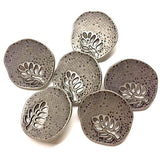 "Lacey Tree Irregular Shape Button 7/8""  #SWC-68"