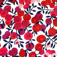 Red Cherries Wiltshire Liberty of London Tana Lawn by the Half Yard