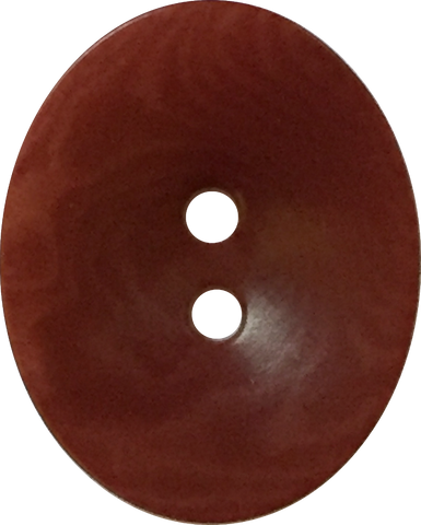 "Corozo Tagua Oval 2 hole 11/16"" button, 11 colors, Vegetable Ivory 75¢ each"
