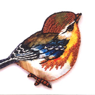 Little Wren Appliqué, Bird Patch 2""
