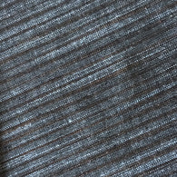 Steel Blue / Brown Yarn-Dyed Woven Stripes Quiliting-Weight Cotton, #IND046.