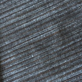 Steel Blue / Brown Yarn-Dyed Woven Stripes Cotton, #IND046.