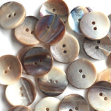 "Mocha Browns, 3/4"" Shell,   Pack of 6.   Item #23-170"