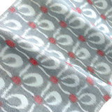 Fall Gardens on Navy Floral Print Vintage Kimono Silk by the Yard
