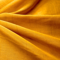 Turmeric Silk/Cotton Blend, Featherweight Voile from India. By the Yard #892