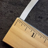 "SALE 1/4"" White Elastic, Roll of 55 Yards, Japan #SB-60F"