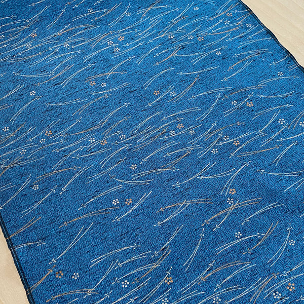"Antique Japanese Papers Kimono Silk Crepe Pieces, 7"" x 14""  #3856"