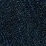 Deep Sea Blue/Black Slubby-Soft Cotton Woven, by the Yard  #CHL-124
