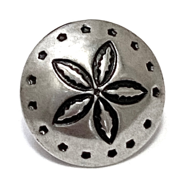"Southwest Skyrocket Flower 1/2"" Concho Button #SW-80"