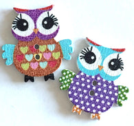 Owls Mixed Colors Supercute, Set of 10 for  $2.50 ON SALE