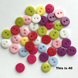 Tiny Brights, 40 in mixed colors, $2.00