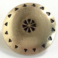 "Brass Southwest ""Wreath"" Button, 7/8""  #SW-77"