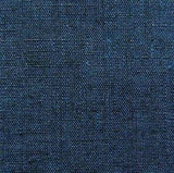 Dark Indigo Blue/Black Crossdye Vintage Japanese Kimono Silk 2-Yard PIECE #863
