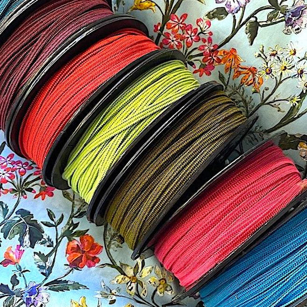 "SALE 3/16"" Mask Elastic, Your Choice of Colors, 55 Yard Roll for $7.00"