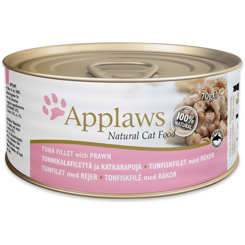 Applaws Cat Tuna Fillet With Prawn Tin, Wet Cat Food, Applaws, Pet Parlour Terenure - The Pet Parlour Terenure Dublin