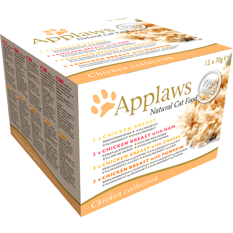 Applaws Cat Multipack Chicken Collection, Wet Cat Food, Applaws, Pet Parlour Terenure - The Pet Parlour Terenure Dublin