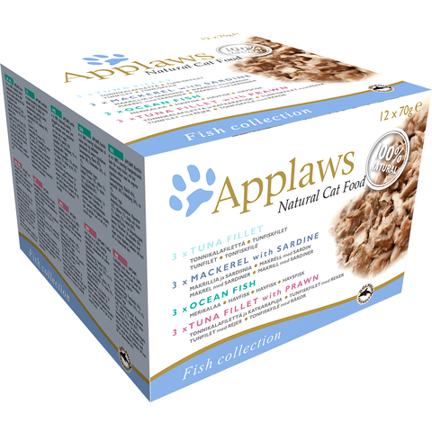 Applaws Cat Multipack Fish Collection, Wet Cat Food, Applaws, Pet Parlour Terenure - The Pet Parlour Terenure Dublin