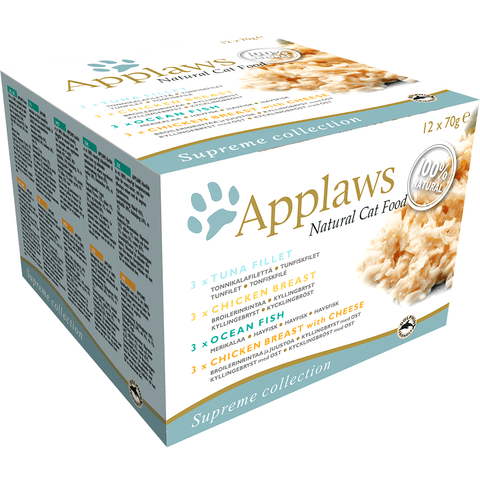 Applaws Cat Multipack Supreme Collection, Wet Cat Food, Applaws, Pet Parlour Terenure - The Pet Parlour Terenure Dublin