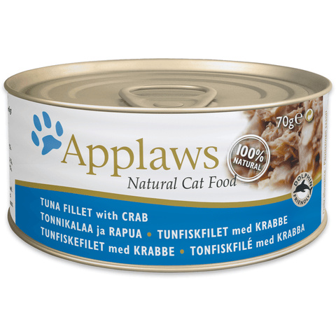 Applaws Cat Tuna Fillet With Crab, Wet Cat Food, Applaws, Pet Parlour Terenure - The Pet Parlour Terenure Dublin