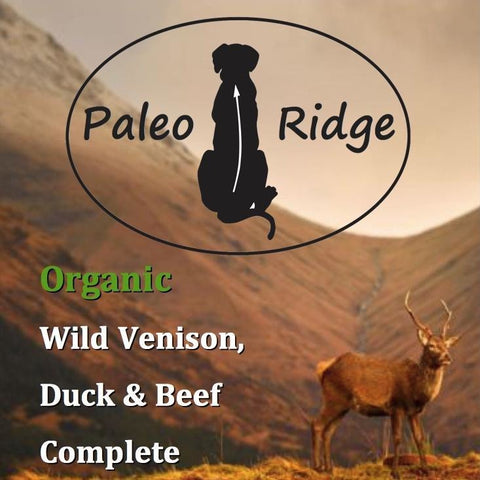 Paleo Ridge VENISON, BEEF TRIPE & DUCK COMPLETE 1kg, Raw Dog Food, Paleo Ridge, The Pet Parlour Terenure - The Pet Parlour Terenure Dublin