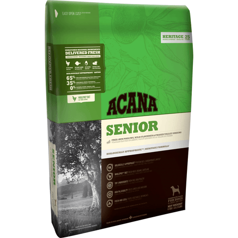 Acana Senior All Breeds, Dry Dog Food, Acana, Pet Parlour Terenure - The Pet Parlour Terenure Dublin