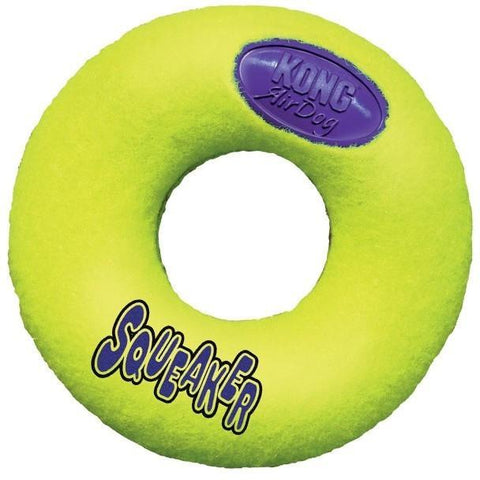 Kong Air Dog Squeaker Donut, Dog Toys, Kong, Pet Parlour Terenure - The Pet Parlour Terenure Dublin