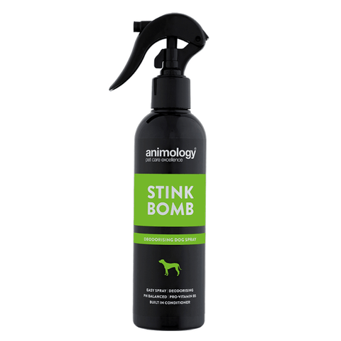 Animology Stink Bomb Deodorising Dog Spray 250ml, Dog Hygiene, Animology, Pet Parlour Terenure - The Pet Parlour Terenure Dublin
