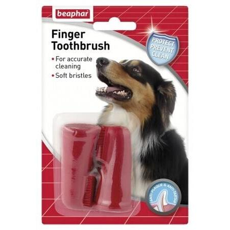 Beaphar Finger Toothbrushes, Dog Hygiene, Beaphar, Pet Parlour Terenure - The Pet Parlour Terenure Dublin