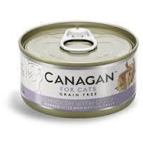 Canagan Cat Chicken With Duck Can 75g, Wet Cat Food, Canagan, The Pet Parlour Terenure - The Pet Parlour Terenure Dublin