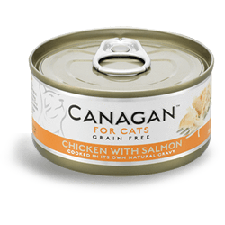 Canagan Cat Chicken With Salmon Can 75g, Wet Cat Food, Canagan, Pet Parlour Terenure - The Pet Parlour Terenure Dublin