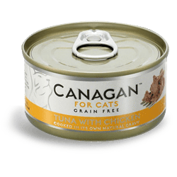 Canagan Cat Tuna With Chicken Can 75g, Wet Cat Food, Canagan, Pet Parlour Terenure - The Pet Parlour Terenure Dublin