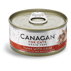 Canagan Cat Tuna With Crab Can 75g, Wet Cat Food, Canagan, Pet Parlour Terenure - The Pet Parlour Terenure Dublin