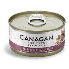 Canagan Cat Tuna With Salmon Can 75g, Wet Cat Food, Canagan, The Pet Parlour Terenure - The Pet Parlour Terenure Dublin