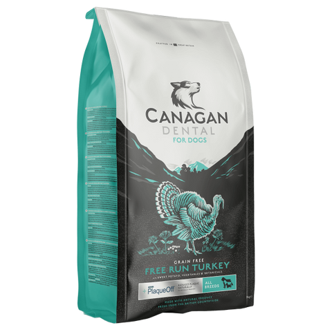 Canagan Free-Run Turkey Dental PlaqueOff, Dry Dog Food, Canagan, The Pet Parlour Terenure - The Pet Parlour Terenure Dublin
