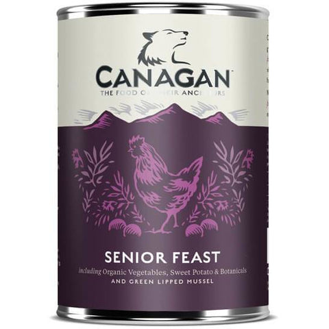 Canagan Senior Feast Can 400g, Wet Dog Food, Canagan, Pet Parlour Terenure - The Pet Parlour Terenure Dublin
