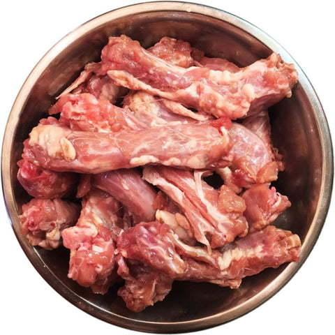 Frozen Chicken Necks 1kg, Raw Dog Food, Willow Run Raw, Pet Parlour Terenure - The Pet Parlour Terenure Dublin