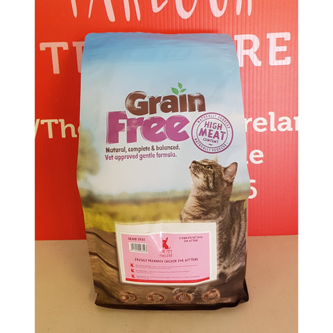 Pet Parlour Grain Free Chicken for Kittens, Dry Cat Food, Pet Parlour Grain Free, The Pet Parlour Terenure - The Pet Parlour Terenure Dublin