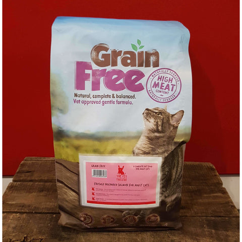 Pet Parlour Grain Free Salmon For Cats, Dry Cat Food, Pet Parlour Grain Free, Pet Parlour Terenure - The Pet Parlour Terenure Dublin