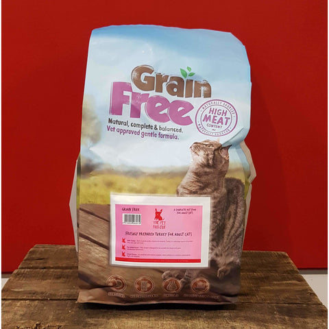 Pet Parlour Grain Free Turkey For Cats, Dry Cat Food, Pet Parlour Grain Free, The Pet Parlour Terenure - The Pet Parlour Terenure Dublin