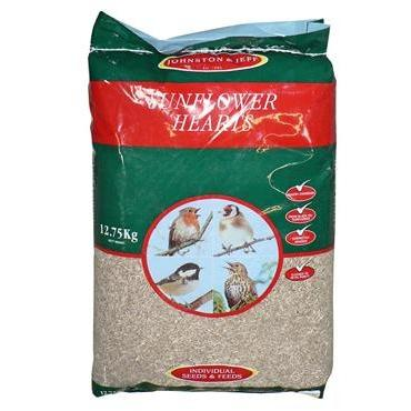 Johnston and Jeff Sunflower Hearts 12.75kg, Bird, Johnston and Jeff, Pet Parlour Terenure - The Pet Parlour Terenure Dublin