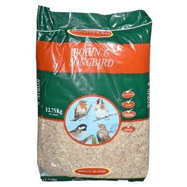 Robin & Songbird Mealworm Mix 12.75KG, Bird, Johnston and Jeff, The Pet Parlour Terenure - The Pet Parlour Terenure Dublin