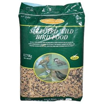 Selected Wild Bird Food 12.75KG, Bird, Johnston and Jeff, The Pet Parlour Terenure - The Pet Parlour Terenure Dublin